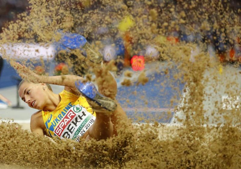 Марина Без з результатом 6,73 сантиметри стала срібною призеркою чемпіонату Європи в секторі стрибків у довжину