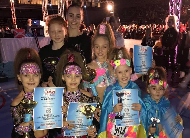 Хмельницькі танцюристки на Чемпіонаті світу по диско
