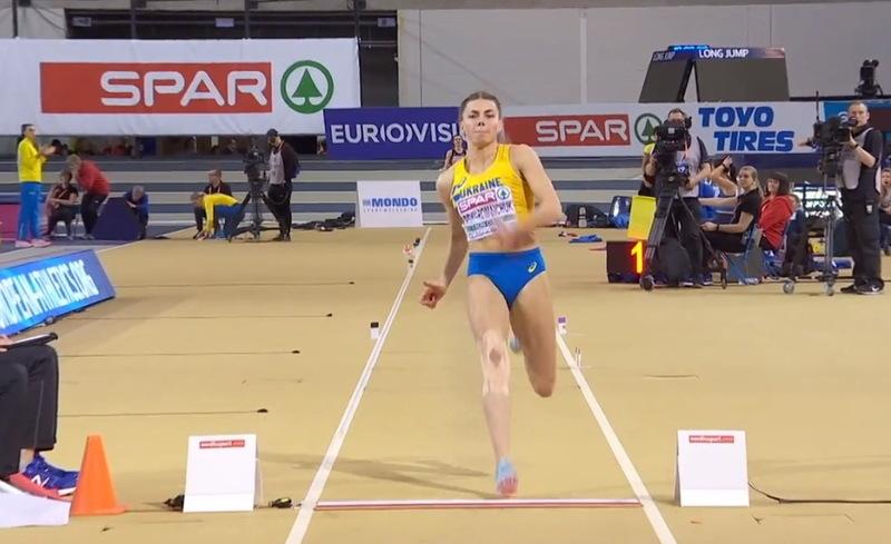 Стрибок на 6,84 метри приніс Марині Бех-Романчук бронзову медаль першості Європи