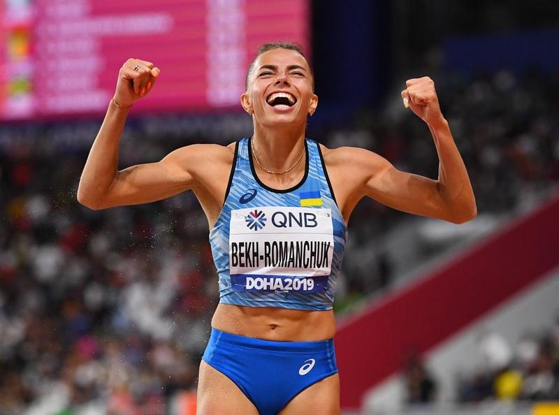 Марина Бех-Романчук виграла загальний залік змагань у секторі стрибків у довжину серії World Athletics Indoor Tour