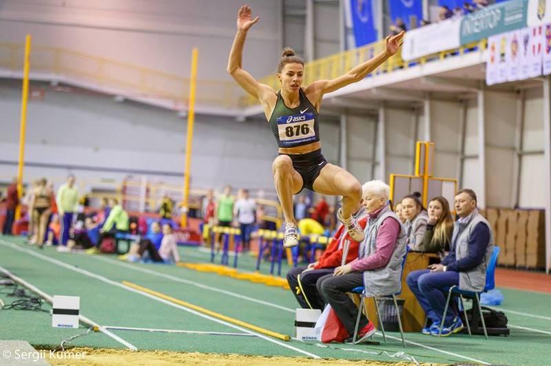 Марина Бех-Романчук 7-9 лютого має взяти участь у чемпіонаті України з легкої атлетики в приміщеннях