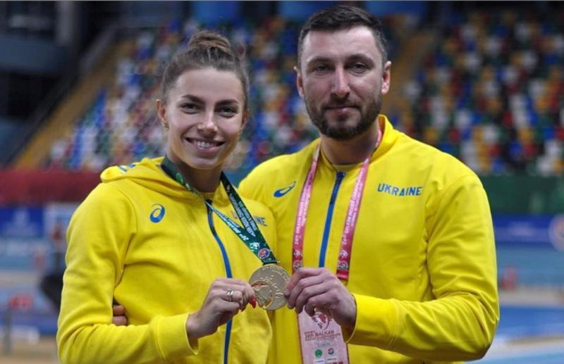 Марина Бех-Романчук та її тренер Вадим Крушинський - чергове золото, тепер у Стамбулі