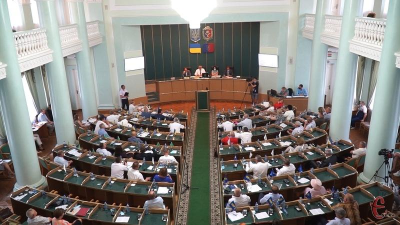 Більшість депутатів облради проголосували за звернення до президента та прем\'єр-міністра України