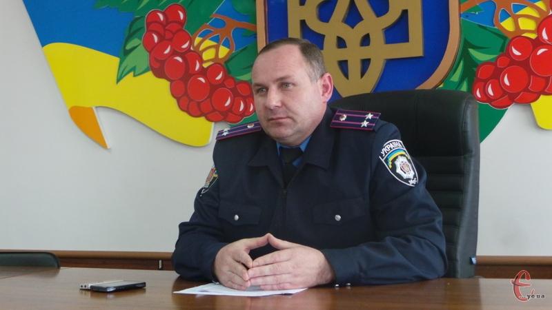 Володимир Калашнік прозвітував про роботу поліції за три місяці