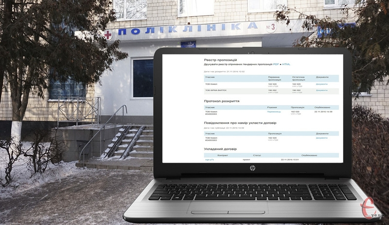 Нотбуки для центрів первинної медичної (медико-санітарної) допомоги закуплять на за 199 тисяч 992 гривні, а дешевше майже на 17,5 тисяч гривень