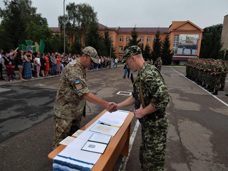 Офіцери запасу присягнули на вірність Україні