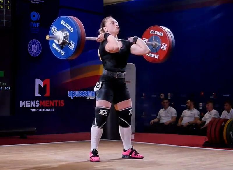 Хмельницька важкоатлетка Аліна Марущак здобула три медалі на чемпіонаті Європи