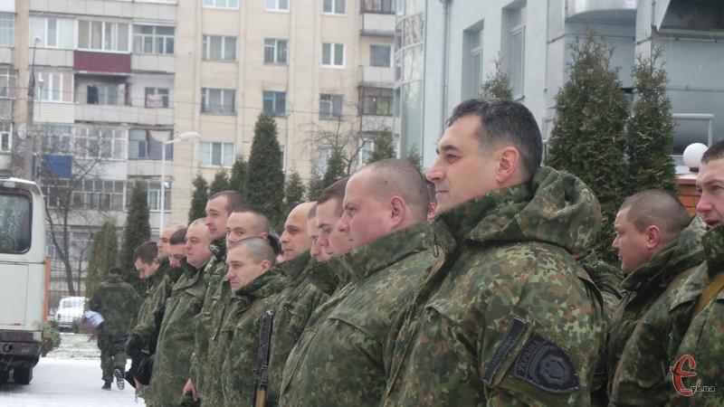 З початку російської агресії на сході України, це вже 80-та ротація для правоохоронців