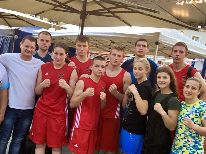 Українські боксери здобули в Угорщині 9 медалей