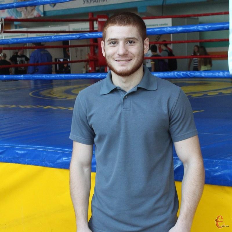 Мгер Оганісян - бронзовий призер Кубку Україн.