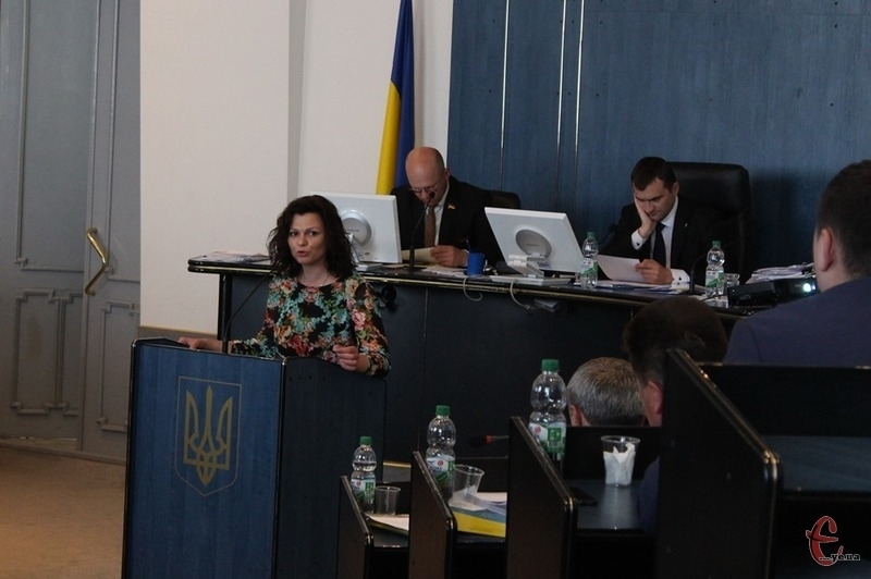 Тетяна Калюжна озвучила депутатське звернення