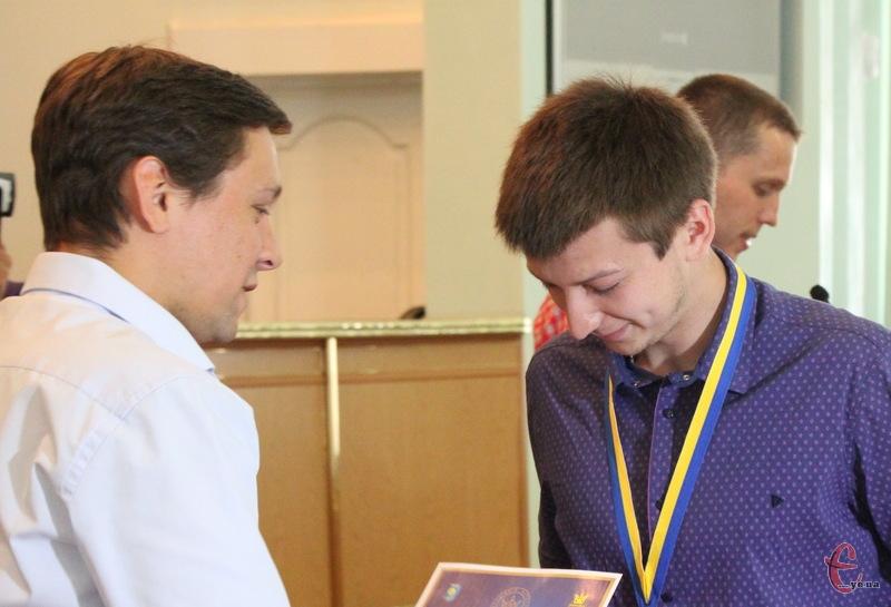 Валерій Власович, якому лише 21 рік, вже срібний призер чемпіонату України