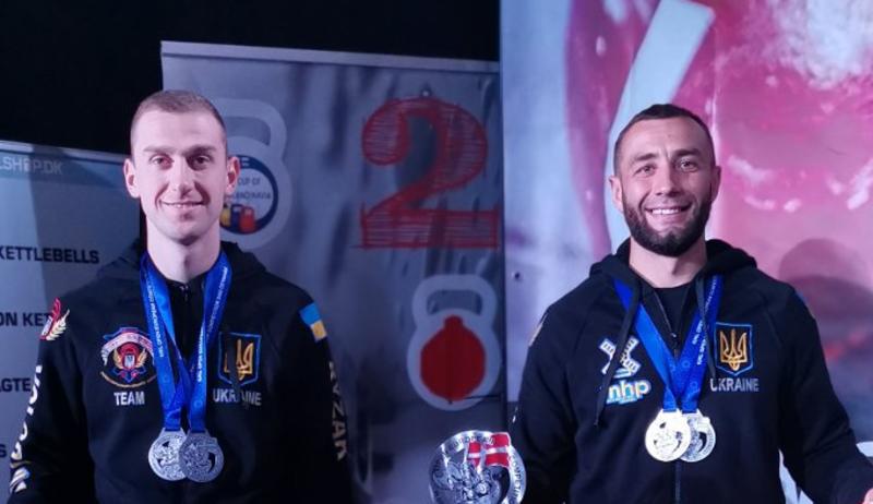 Із золотими нагородами повернулися гирьовики з чемпіонату Європи