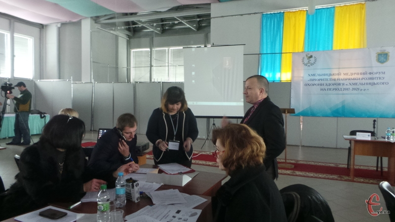 Загальноміський медичний форум провели у Хмельницькій торгово-промисловій палаті