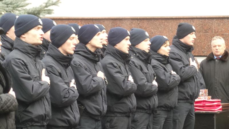 Уже рік безпеку на вулицях міста охороняють патрульні поліцейські
