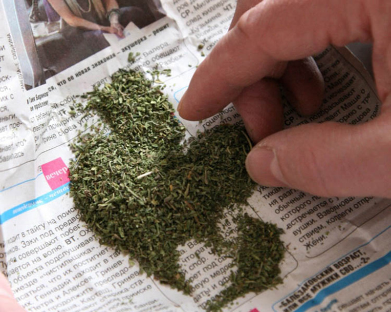 У хлопця знайшли речовину схожу на наркотики