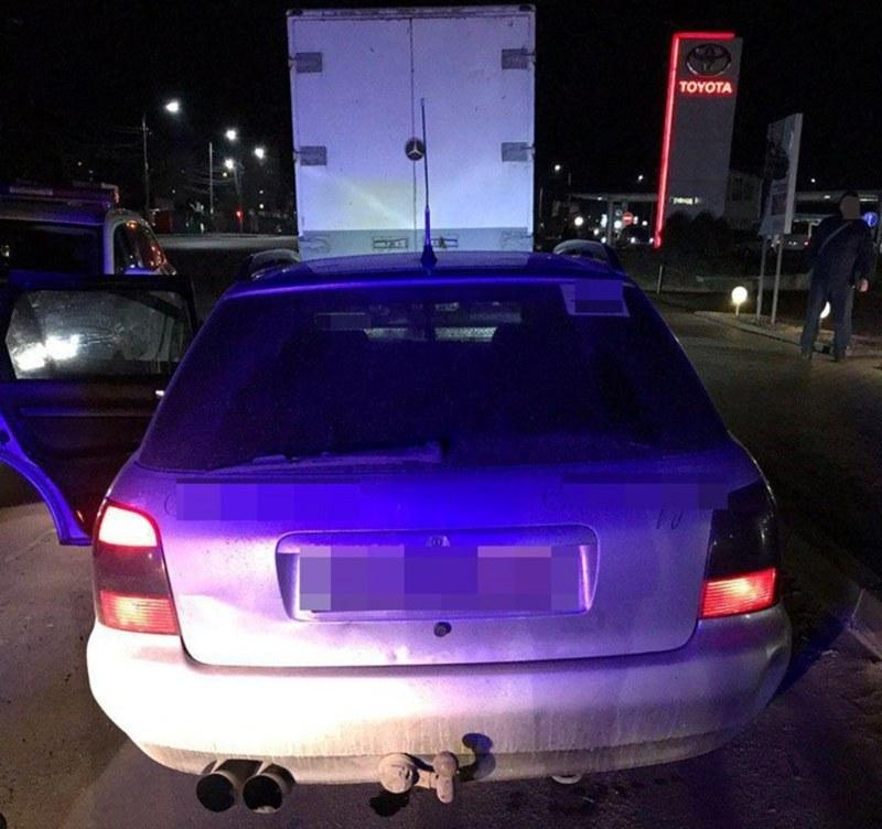 У Хмельницькому патрульні затримали ймовірного викрадача автомобіля