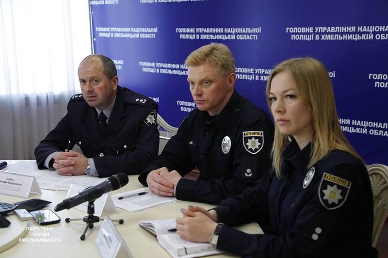 У поліції відзвітували про проведення тижня безпеки