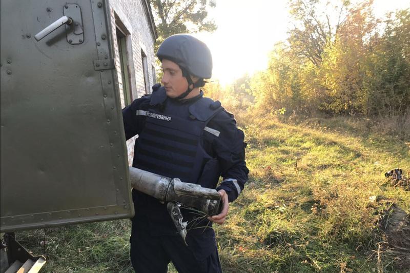 Протягом 10 та 11 жовтня хмельницькі піротехніки обстежили загалом 12 вулиць в м.Ічня