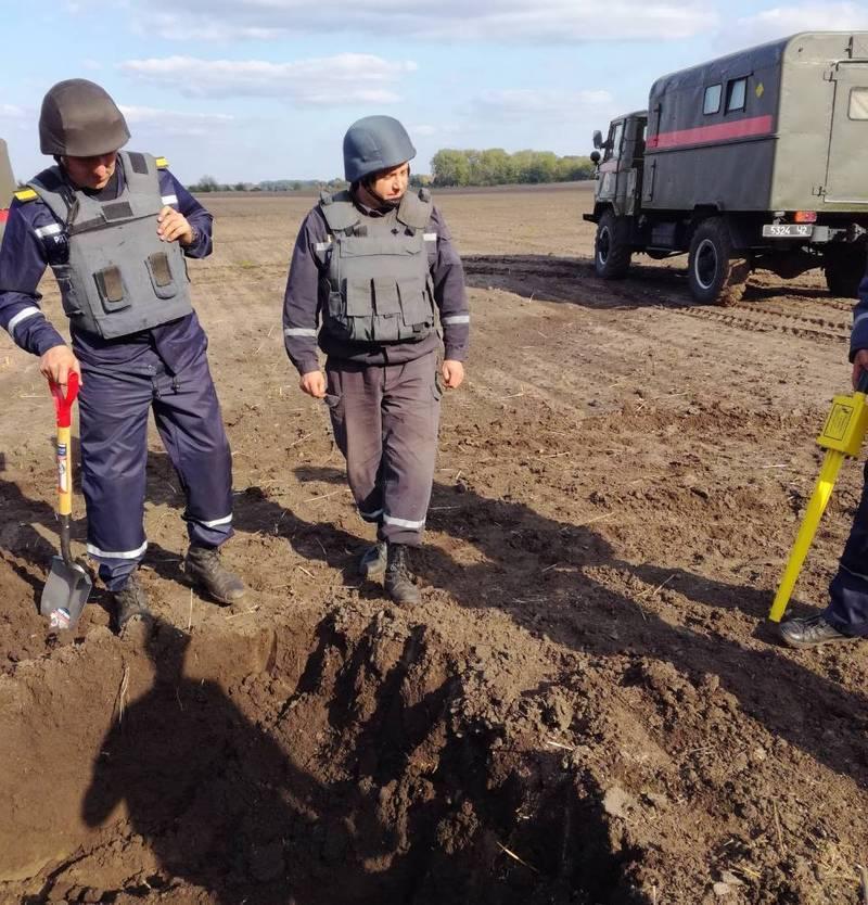 Рятувальники вже віднайшли понад 50 снарядів