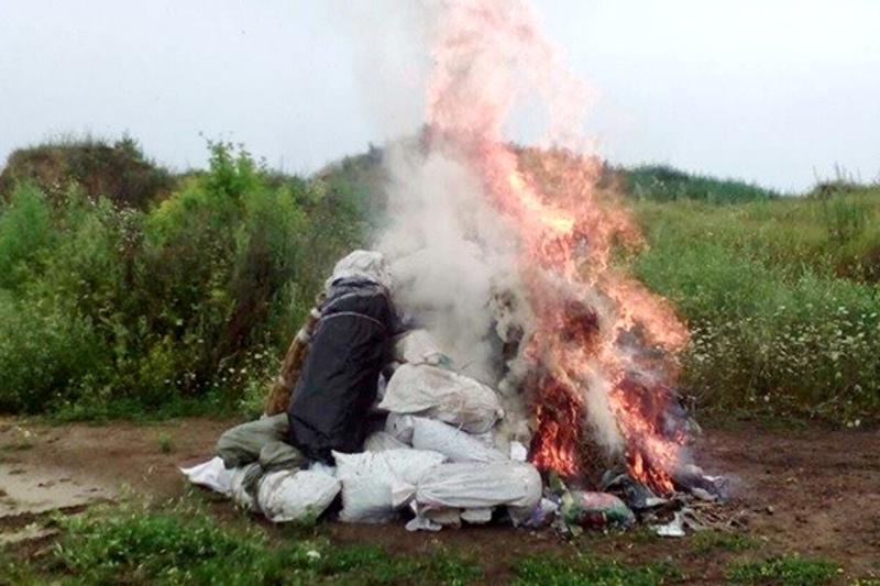Наркотики знищили під наглядом спеціальної комісії