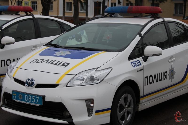 Екіпажу №103 Управління патрульної поліції в Хмельницькому довелося переслідувати підозрюваного