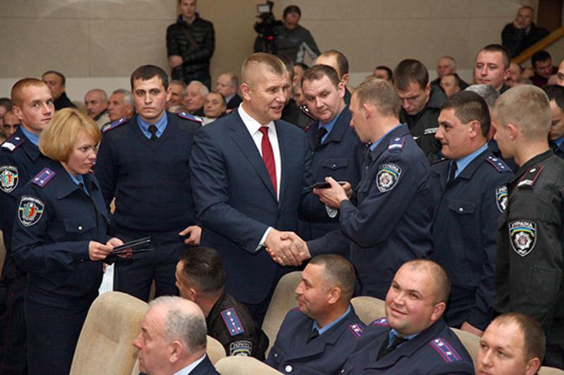 45 правоохоронців області отримали посвідчення учасника бойових дій