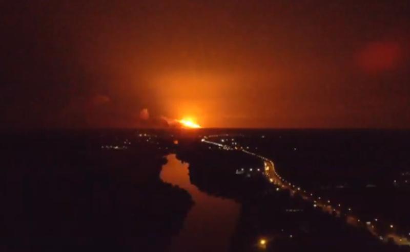 На Вінничині вибухають артилерійські склади