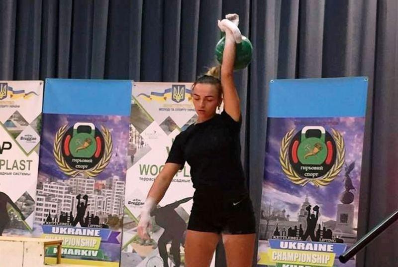 Хмельницькі спортсмени успішно виступили на Чемпіонаті України з гирьового спорту