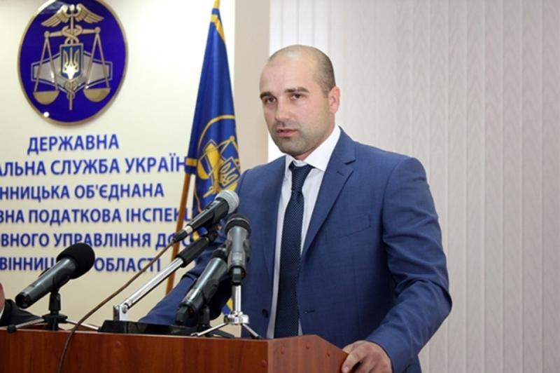 Сергій Ковальчук, новий очільник податківців Хмельниччини