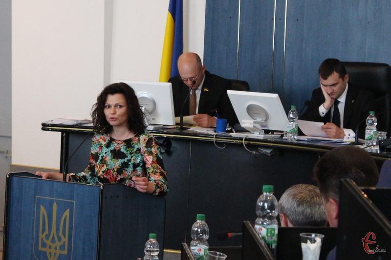Від 17 травня фракцію ВО Свобода в Хмельницькій міській раді очолює Тетяна Прядун