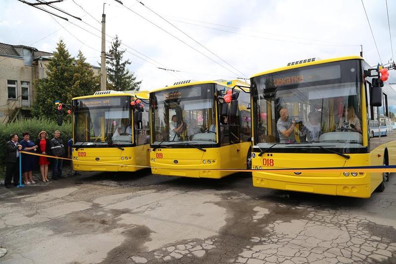 Купували тролейбуси у Луцьку