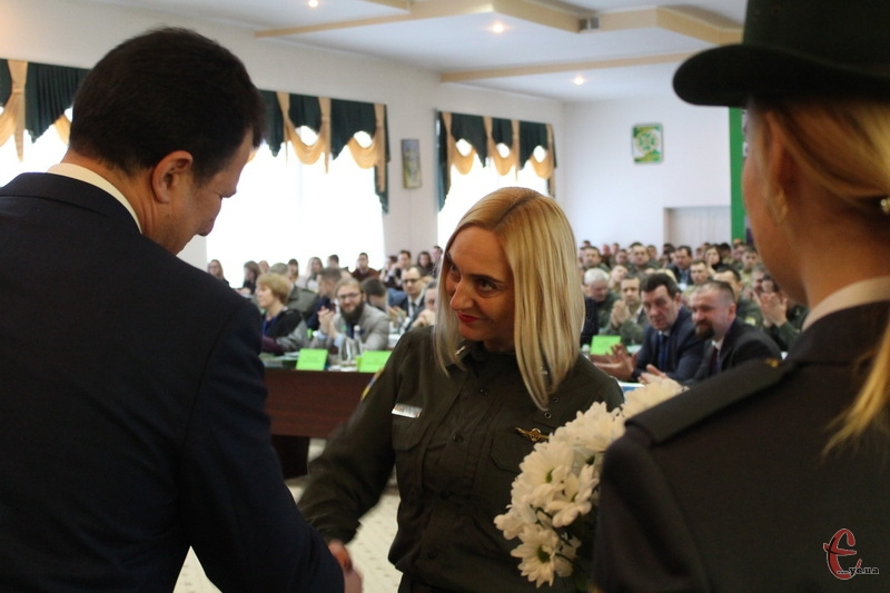 Підполковника Тетяну Дерев'янко нагородили медаллю