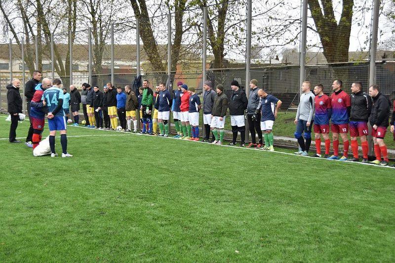 Хмельницькі спецпризначенці відкрили новий футбольний стадіон мінітурніром чотирьох команд