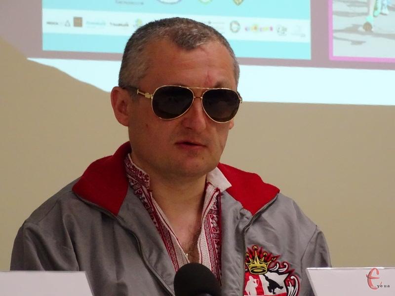 Колишній учасник АТО Олександр Дарморос взяв участь у марафоні