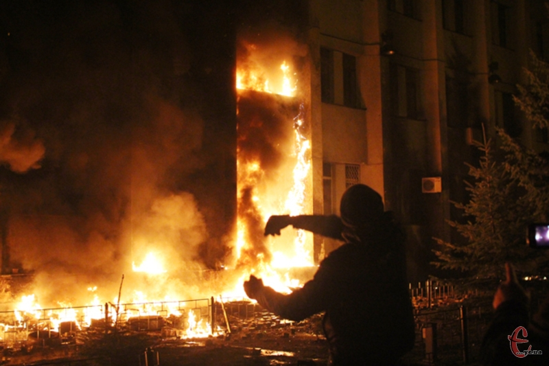 Крапку в розслідуванні лютневий подій 2014 року біля хмельницького СБУ 2014 й досі не поставлено