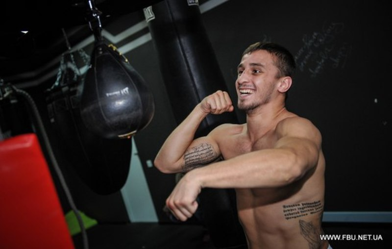 Денис Лазарєв - перший боксер-професіонал із Хмельницького