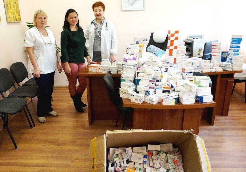Подаровані ліки будуть надаватися пацієнтам, які лікуються у стаціонарному відділенні медзакладу