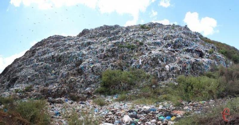 На території нинішнього сміттєзвалища передбачена «зелена зона»