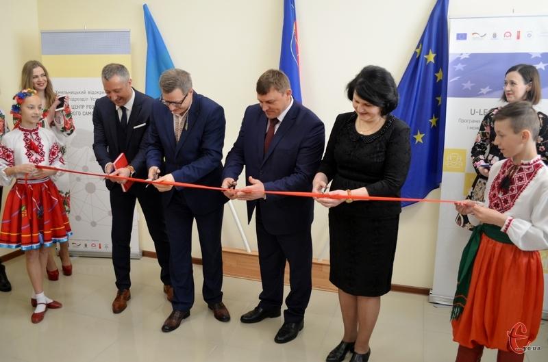 Офіс Хмельницького регіонального ЦРМС відкрили на вулиці Вайсера, 7