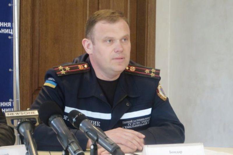 З 2014 року і по теперішній час Дмитро Бондар працює першим заступником начальника Головного управління ДСНС України у Хмельницькій області