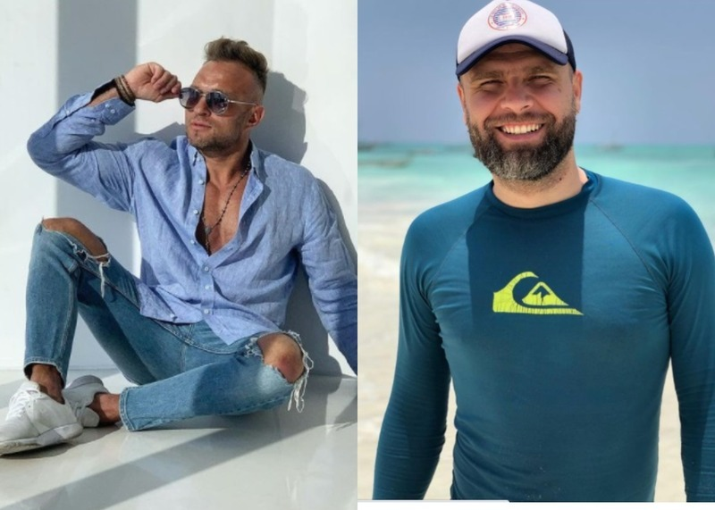 Ліворуч – Олег Плахотнюк, праворуч – Ігор Присяжнюк