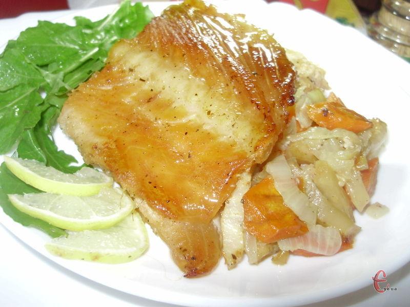 Соковите, ароматне й дуже-дуже ніжне м'ясо червоної рибки!