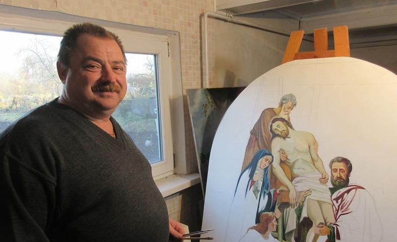 Понад вісім десятків храмів та монастирів розписані саме рукою художника Ростислава Гарбарука