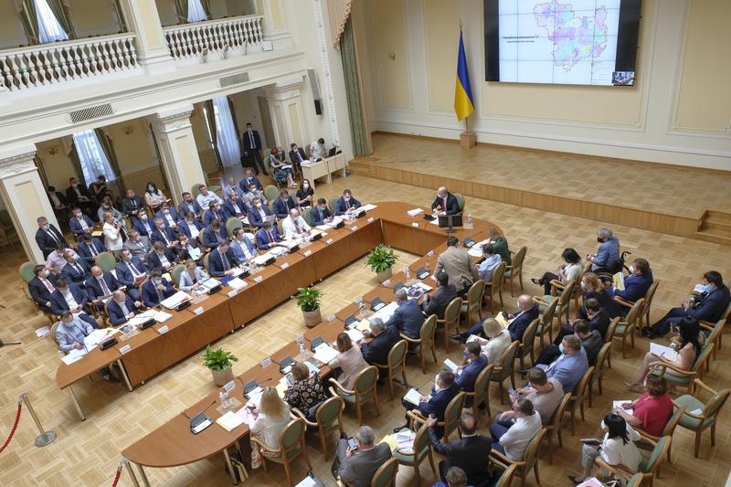 Сьогодні, 12 червня Кабінет міністрів на позачерговому засіданні затвердив список районів