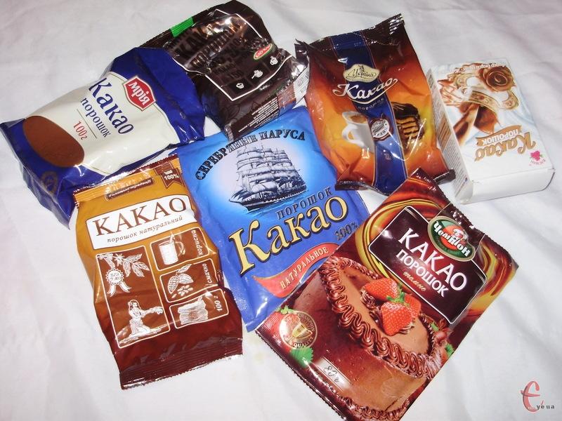 Кореспонденти газети «Є» дізнавалися, який «шоколадний порошок» купити для випічки, а з якого приготувати смачний тонізуючий напій