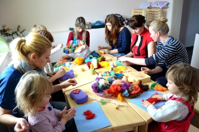 Участь у майстер-класах можуть брати як діти, так і дорослі