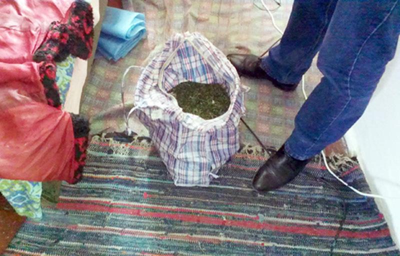У сумці, яку знайшли в помешкані кам'янчанина, було приблизно 380 грамів речовини, схожої на коноплю