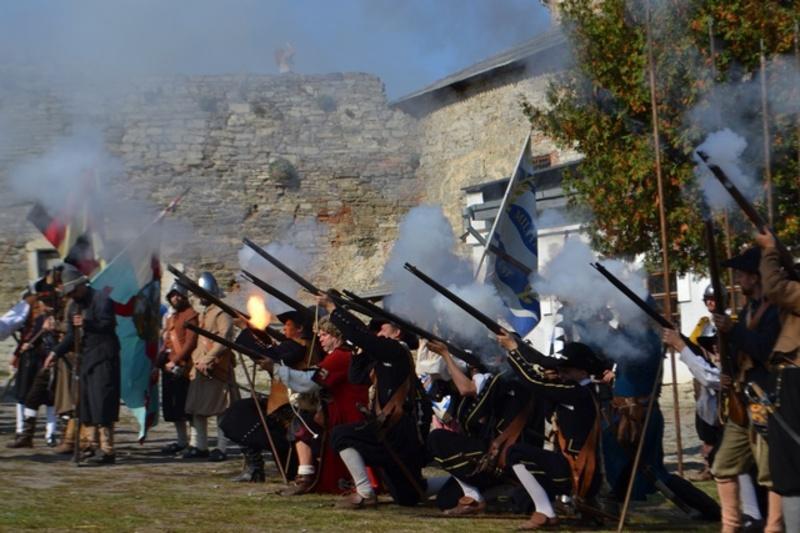 У першу половину 17 ст. на три дні повернулася фортеця Кам'янця-Подільського