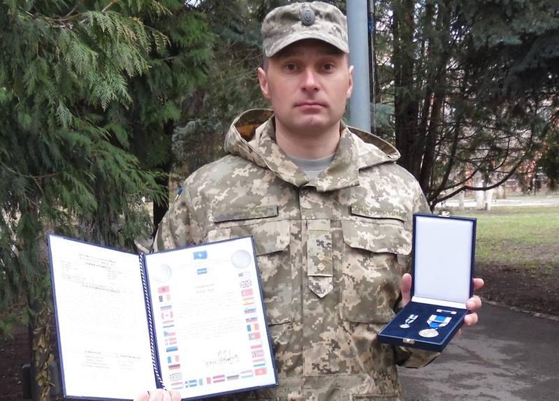 Пилипа Гука нагородили  «Медаллю НАТО за особливі заслуги під час проходження служби»